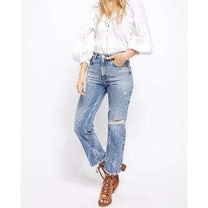 Free People Dakota Straight Leg Jean